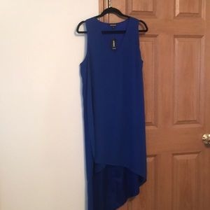 Express Dress Royal Blue With Tag